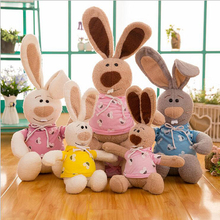 New Style Stuffed Animal Rabbit Plush Toy Cute Rabbit Plush Doll Birthday Gift For Children Kids cute rabbit plush backpack cartoon stuffed plush doll children school bag gifts for kids