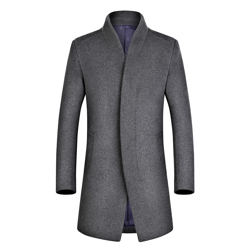 MRMT 2020 Brand Men's Wear Winter Woolen Coat Casual Wool Overcoat for Male Suit Jacket Outer Wear Clothing Garment