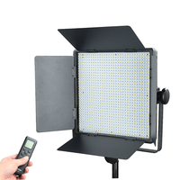Professional Godox LED1000Y 3300K Yellow Version LED Video Light+Remote Cord+AC Power Adapter For Camera DV Video