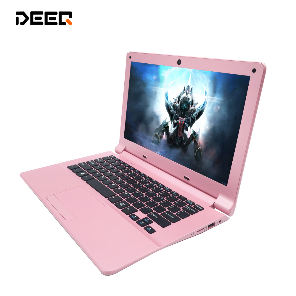 Free shipping multi language windows 10 system 11.6 inch mini laptop 2G ram 32GB emmc built in bluetooth camera