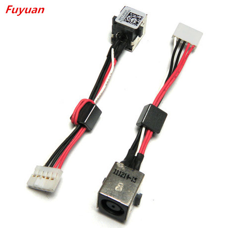 NEW LAPTOP DC POWER JACK CABLE FOR Dell Inspiron 15R 5520 7520 DC JACK CHARGING CABLE dc in power jack for dell inspiron 14 7460 15 7560 0jm9rv jm9rv