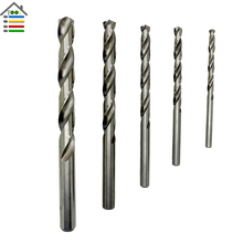 5PC 4-10mm M2 HSS Jobber Drill Bits for Metal Stainless Steel Aluminum Drilling Hole Saw Numbered Cobalt 2017 New Arrival
