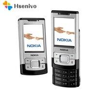 원래 전화 노키아 6500 초 휴대폰 3.2MP 카메라 잠금 해제 6500 슬라이드 휴대 전화 무료 배송