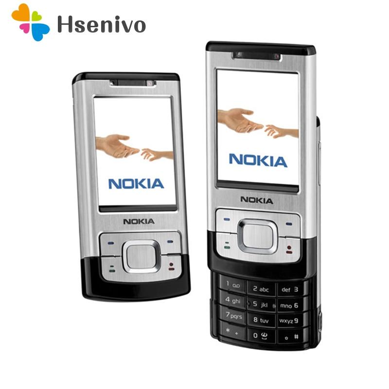 Telefone Original Nokia 6500 S celulares 3.2MP Câmera remodelado Desbloqueado 6500 Slide Telefone móvel Multi línguas Frete grátis