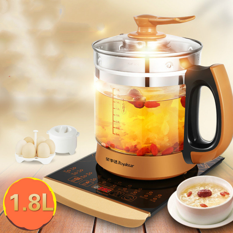 Electric kettle Curing pot Fully automatic thickened glass made teapot multi-function flower Safety Auto-Off Function