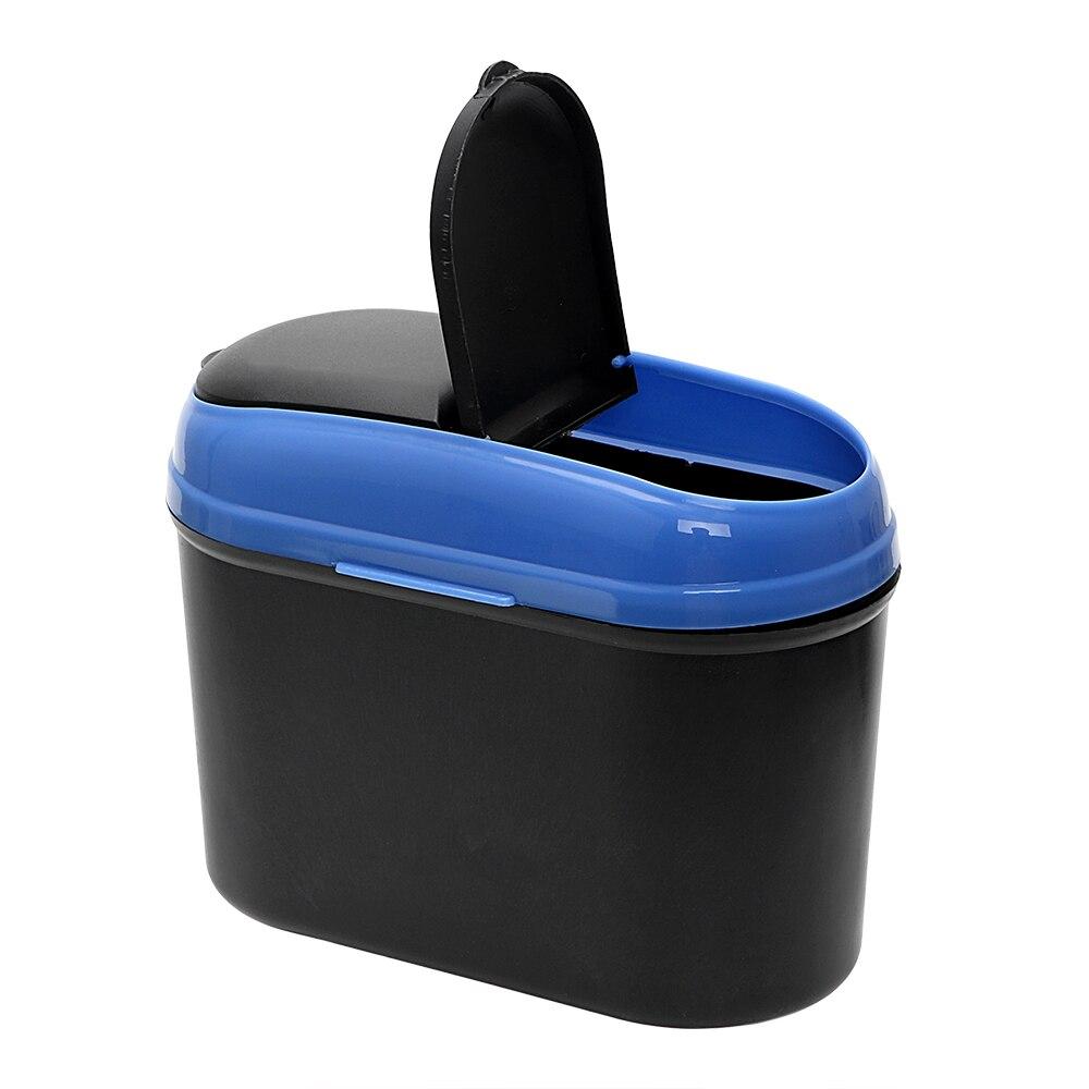 Car DustBin PP Rubbish Trash Can Bucket Auto