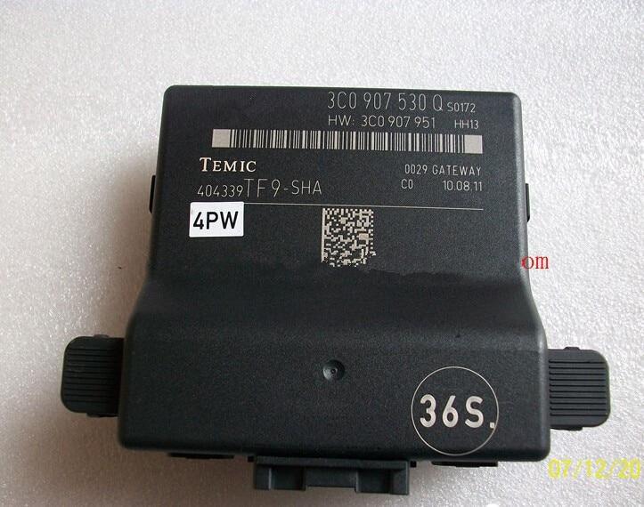 Автомобиль данных CAN BUS шлюз Диагностика Интерфейс для Volkswagen VW Passat B6 cc RNS510 RCD510 3C0907530Q