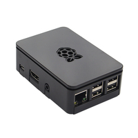 Raspberry pi 3 Case Updated Premium Black White Transparent Raspberry Pi Case Box for Raspberry Pi