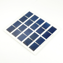 Photovoltaic polysilicon solar panel 5v/6V diy mini power board mobile phone lithium battery charging