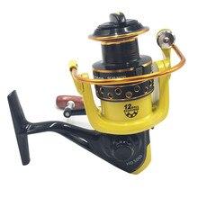 LIEYUWANG Fishing Reel HD 12 Ball Bearings Spinning Reel  5.1:1 Gear Ratio High Speed Fishing Wheel For Bass Fishing