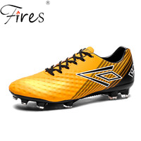 Fires Long Spikes Football Shoes For Men Brand Soccer Shoes Outdoor Zapatos de futbol Football Boot Men Sports Sneakers Trend 1