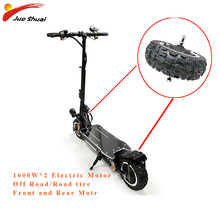 60V 1600W Electric Scooter Motor 11inch Off Road/Road tire Electrico Motor hub Engine Wheel Hoverboard E Scooter Accessories