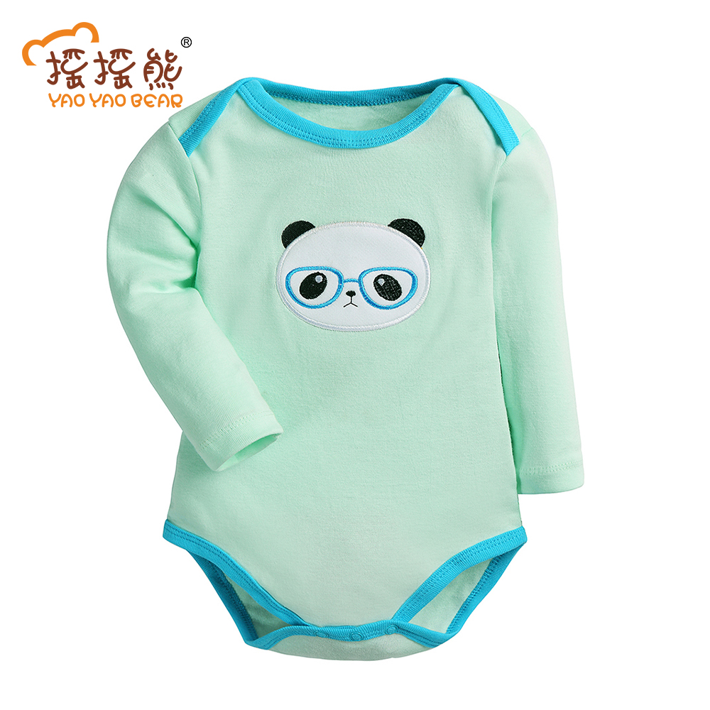 1 Pieces 2017 Baby Boys Girls Clothes Cute Infant Clothes Cotton Newborn Baby Clothes Rompers Baby Coveralls Spring Clothing Set