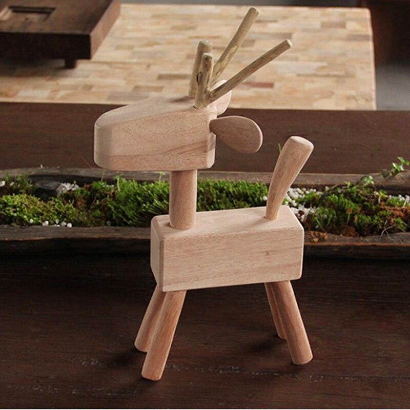 Декоративные Книги по искусству ручной работы, резные деревянные олень