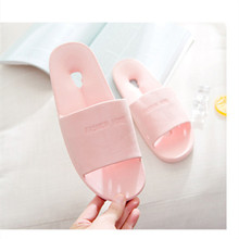 New slippers women summer couple home slippers thick bottom