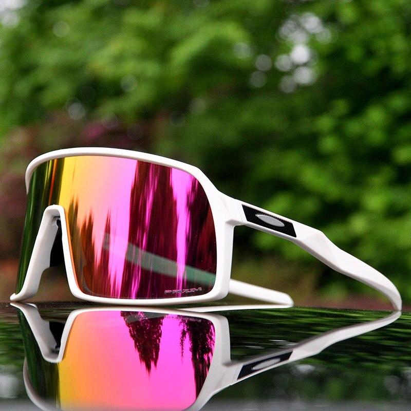 c6a50f4767 Sutro polarizado gafas ciclismo bicicleta de montaña gafas de ciclismo  deportes al aire libre ciclismo gafas de sol UV400 gafas de ciclismo 3 lente