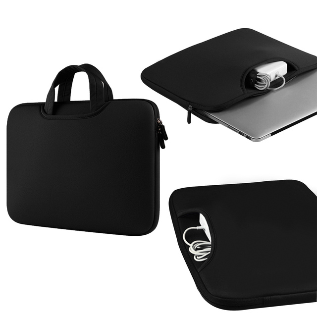 Besegad Briefcase Handbag Laptop Sleeve Pouch Case Cover Bag for Apple MacBook Mac Book Pro Air 11 12 13 13.3 15 15.4 inch
