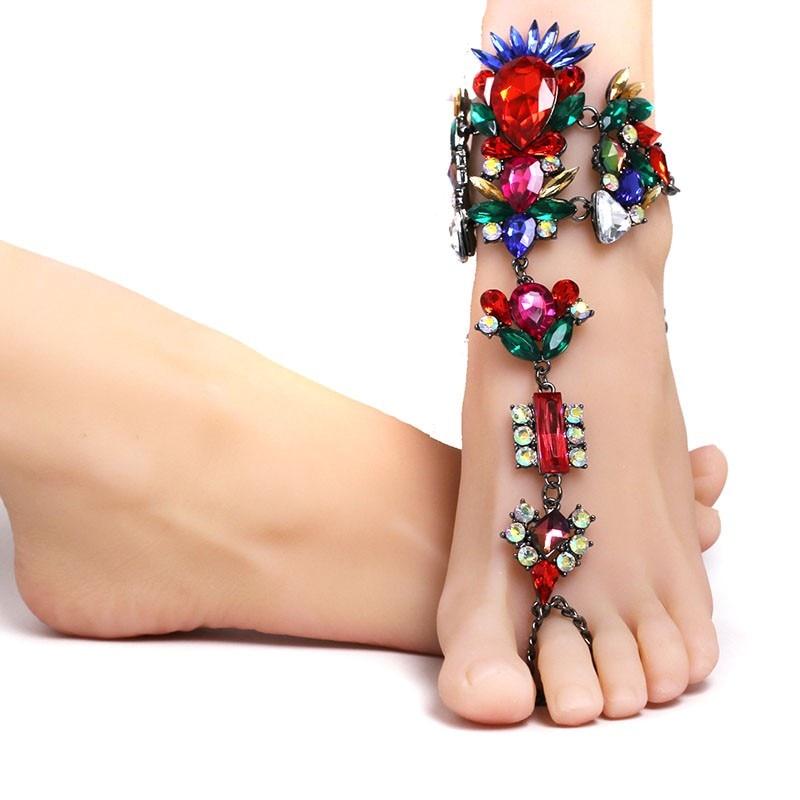 Σέξυ βραχιόλι αστράγαλο αλυσίδα - Κοσμήματα μόδας - Φωτογραφία 5