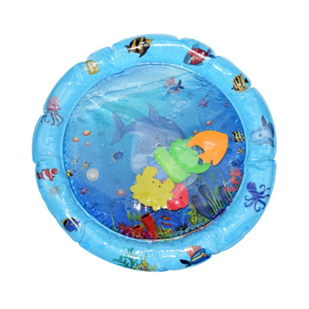 Бассейн надувная подушка многоцветный Приморский надувные игрушки для водяное сиденье Прямая - Цвет: E