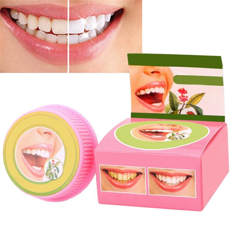 1 Pc Pflanzliche Zahnpasta Zahnpflegemittel Bleaching Zähne Entfernen Schwarz Gelb Flecken 5g Zahnpflege Liefert #11 ZuverläSsige Leistung