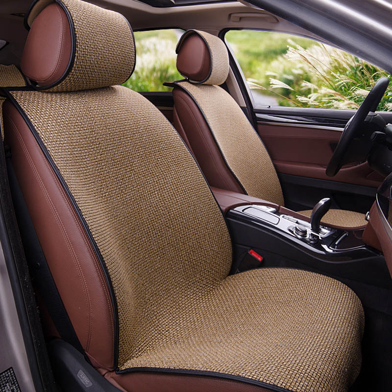 купить Yuzhe Linen car seat cover For Skoda Octavia 2 a7 a5 Fabia Superb Rapid Yeti Spaceback Joyste car accessories styling cushion по цене 5711.79 рублей