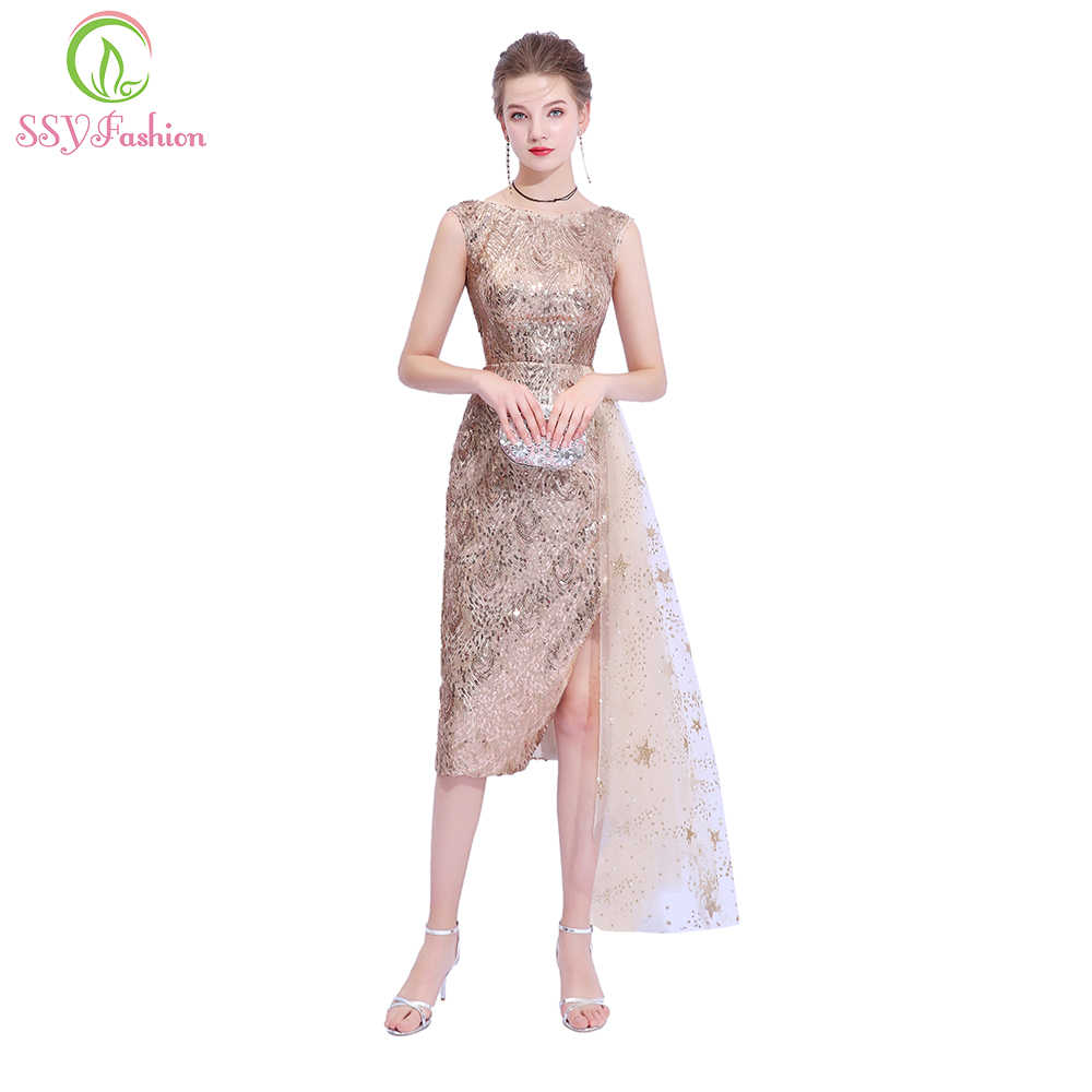 654720ba1d734 Detail Feedback Questions about SSYFashion New Champange Gold ...