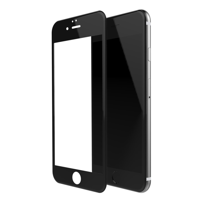 <font><b>FSHANG</b></font> for iPhone 6 s 4.7-inch Ultra Clear 0.2mm 3D <font><b>Tempered</b></font> <font><b>Glass</b></font> <font><b>Screen</b></font> <font><b>Guard</b></font> <font><b>Film</b></font> for iPhone 6s 6 Anti-explosion - Black
