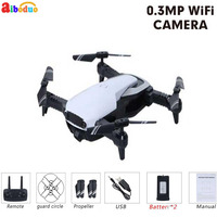 AIBODUO FPV Selfie Dron Foldable Drone with Camera HD Wide Angle Live Video Wifi RC Quadcopter Optical Follow Mode Quadrocopter