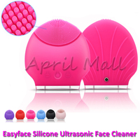 Waterproof Portable Ultrasonic Facial Cleaner Electric Face Cleansing Brush Sonic Massage Skin Care Spa Beauty Cleaning