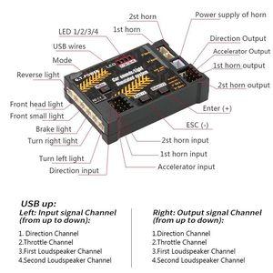 Image 5 - GT POWER RC Módulo de juguete para coche, sistema de sonido/luz simulado para coche de escalada, SUV, Control remoto, camión, vehículo, pieza DIY