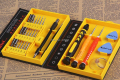 Free Shipping 38 in 1 Multi Repair Tool Box Magnetic Tools Kit Screwdriver Cell Phones Iphone 4 5S Laptop