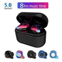 Professional Twins Mini 3D Stereo Bluetooth Earphone Bt 5 0 Invisible True Wireless TWS Waterproof Sport