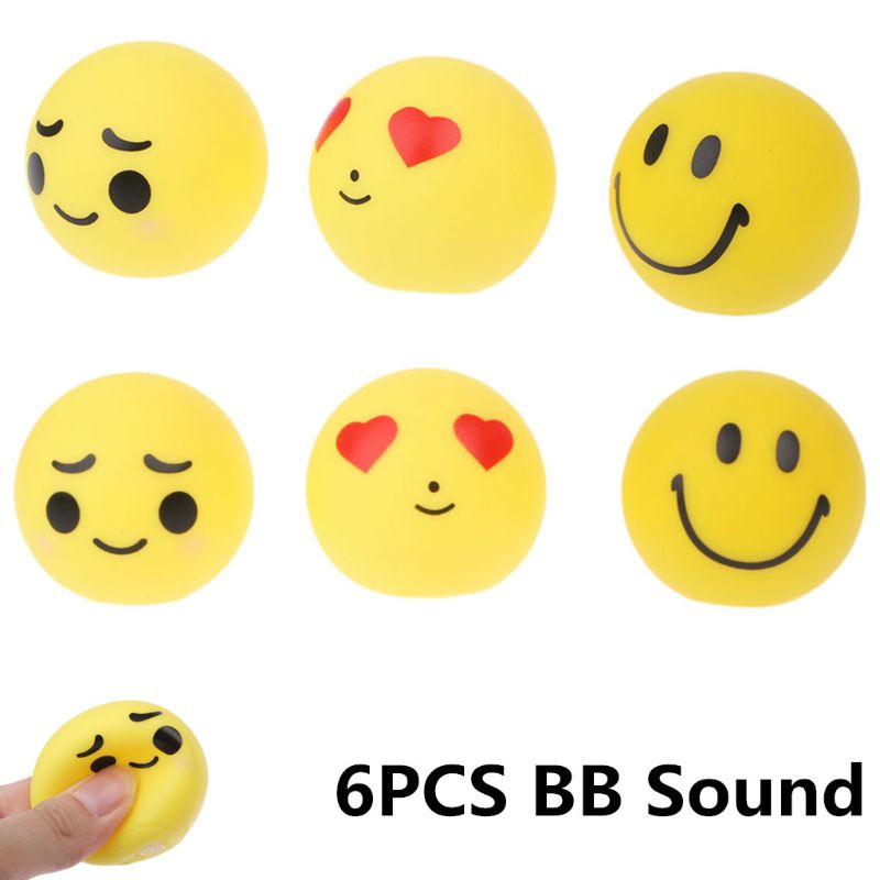 Detail Feedback Questions About Hbb 6pcs Set Kids Emoji Balls