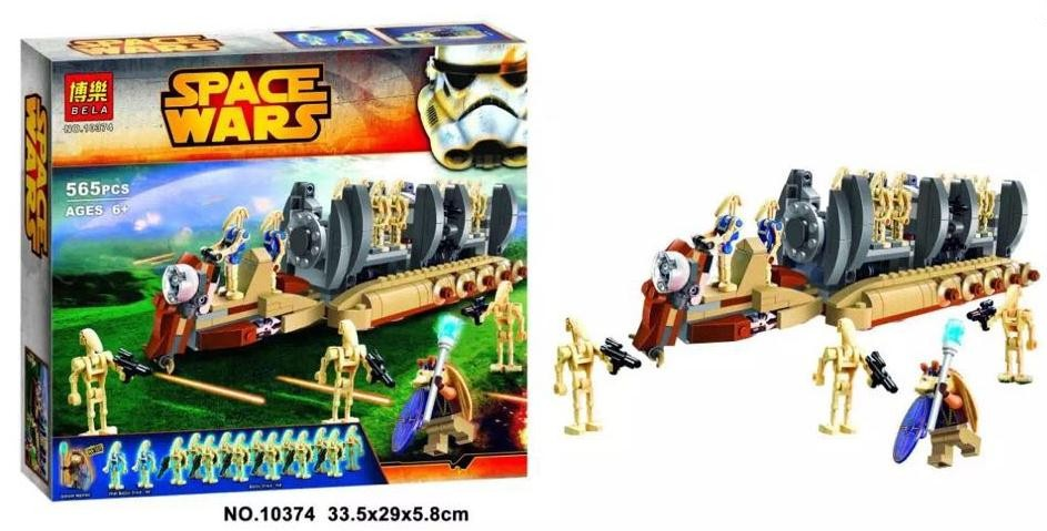 NEW Star Wars series the Battle Droid Troop Carrier model building block Figures Classic Toys Compatible with Lepin 75086 lepin 22001 pirate ship imperial warships model building block briks toys gift 1717pcs compatible legoed 10210