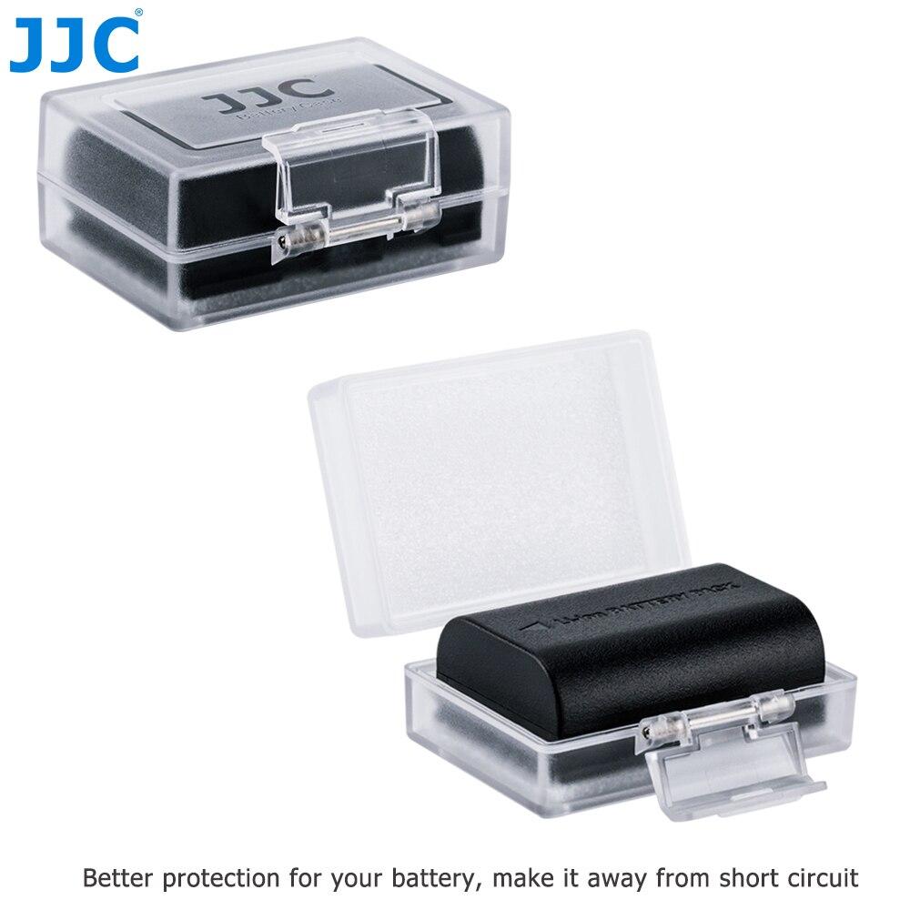 JJC Water-resistant Universal Camera Battery Box for Canon Sony Fuji Nikon Olympus DSLR Batteries Case LP-E17/NP-FW50Protector
