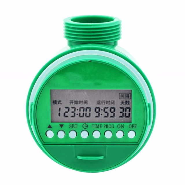 Water Timer Garden Irrigation Controller 5548-16 Set Water Programs Automatic Electronic Solenoid valver Watering System