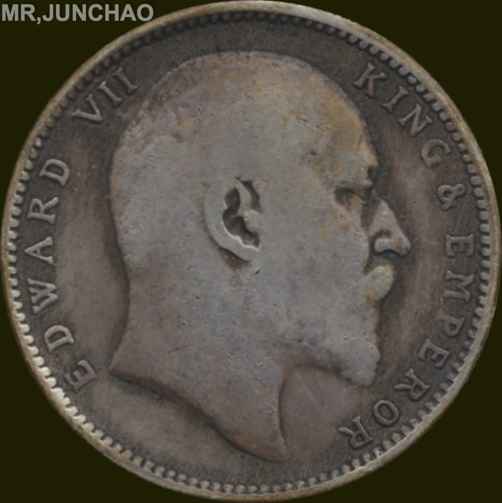 Aliexpress Com Buy India Coin Edward Vii 1903 King