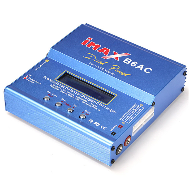 Hot Sale iMAX B6-AC B6AC Lipo 1S-6S NiMH 3S RC Battery Balance Charger For RC Toys Models 2013 hot sale orignal imax rc imaxrc intelligent balance multifunction battery lipo life li lon charger low s battery helikopter