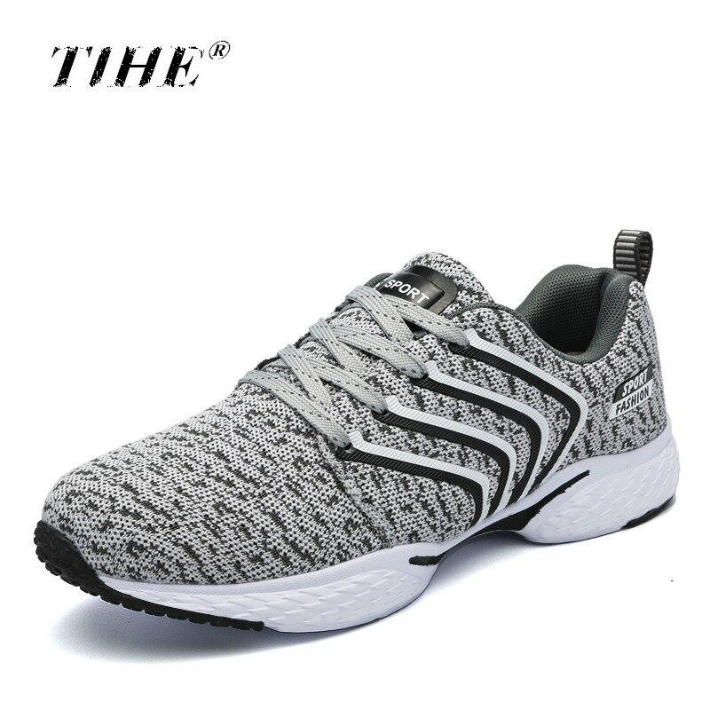 Casual Pour Noir Confort Hommes Plus Chaussures Mesh La bleu gris Baskets 2018 Air De Sneakers Taille 39 À Vente Lacets Respirant Chaude Marche 46 fqw1APnOF