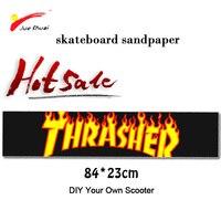 DIY Профессиональная наждачная бумага Антискользящая лента для скейтборда 84*23 см Скейтбординг patinete кожа drift E наклейки для скутеров patinete eletrico