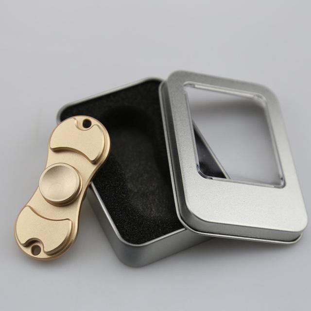 2 Bar Metal Fidget Spinner