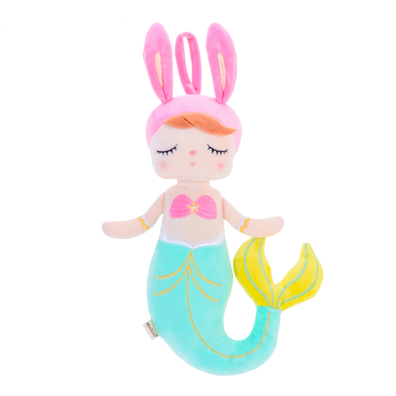 New Style Metoo Metoo Plush Toys Angela Mermaid Fish Dolls With Box Dreaming Girl Plush Rabbit Stuffed Gift Toys For Kids