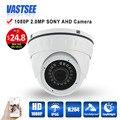 MINI quarto dome analógico AHD Câmera de 2mp Full HD 1080 p sony imx323 vandalproof indoor 24 leds câmeras de lente de visão noturna hd seguranca