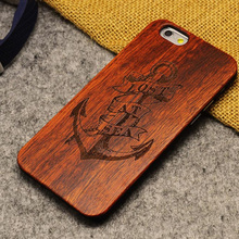 Bamboo Phone Case for iPhone X XR XS Max 8 7 6 Plus