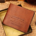 2015 new arrival Men wallets male high quality genuine leather short wallet design business casual vintage purse free shipping