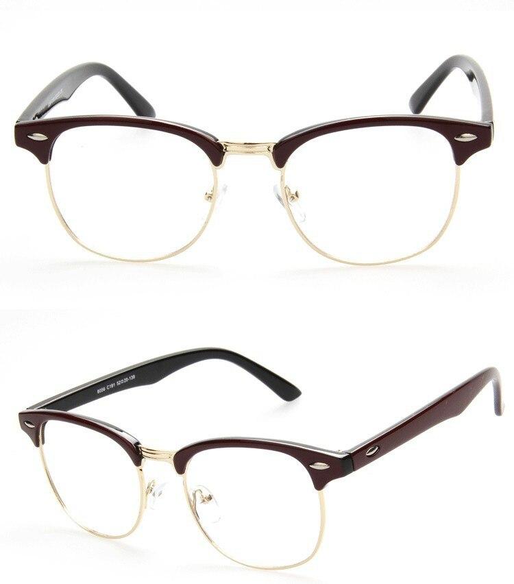 Promoción 2015 marcos de las lentes Unisex óptico mujer montura de ...