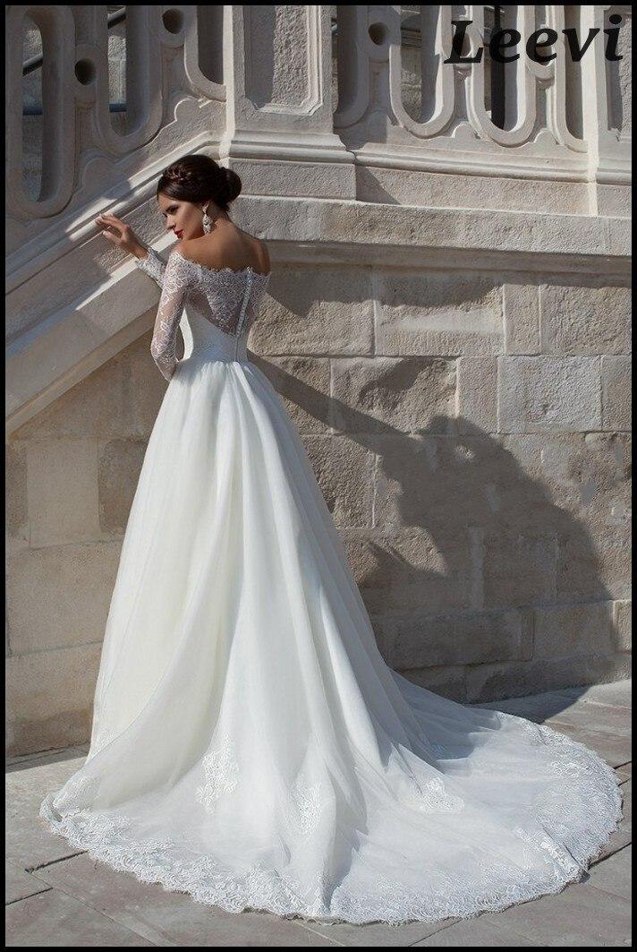 vestido de noiva manga longa pnina tornai vestidos elegante de manga