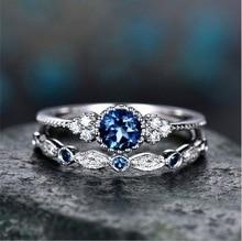 Best Selling New Luxury Vintage Retro Zircon Ring Female Fashion Engagement Rings for Women Girls Wedding Jewelry Gift саморез tech krep 100100 13ммx4 2 мм 1000шт