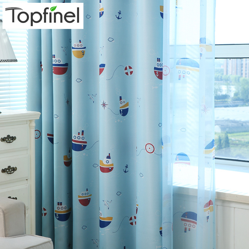 top finel nueva ready made barato cortinas nios baby kids room decorativo ventana cortinas cortinas para