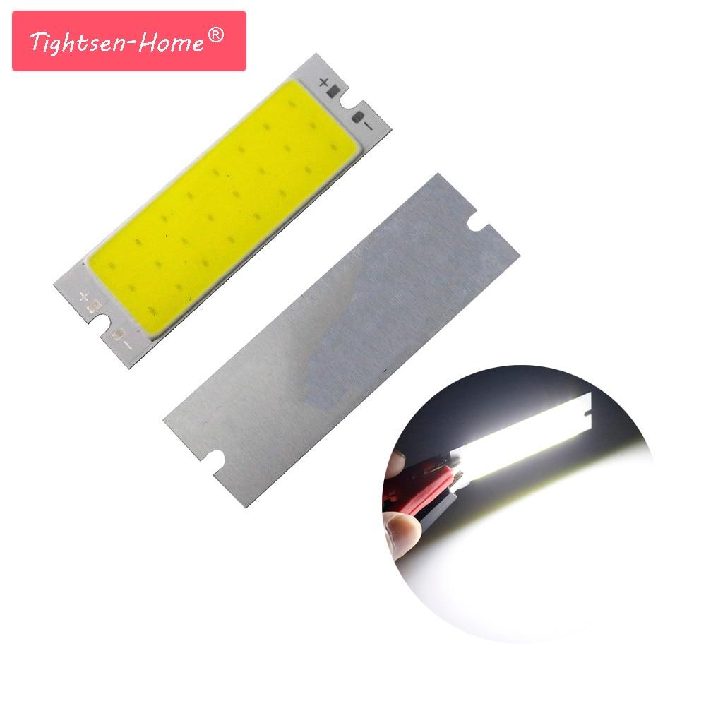 Super Bright DC12V COB LED Strip Light Source 5W Flip Chip Natural White Bar LED 62*20MM Lamp Bulb For Home Lighting  Light